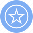 badge, justice, law, police, security, sheriff, star