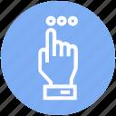account, atm, bank, click, hand, machine, marketing icon