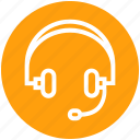 customer, earphone, headphone, headset, marketing, music, sound icon