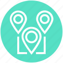 locate, location, location pointers, map pointers, marketing, pins, web icon