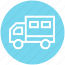business, cargo, delivery, marketing, transportation, truck, vehicle icon