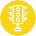 control, lights, regulation, street, traffic, traffic light, web icon
