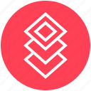 arrange, buffer, copy, design, duplicate, layers, stack