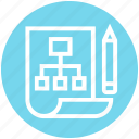 diagram, idea, management, plan, project, scheme, workflow icon
