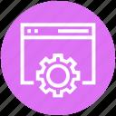 code, coding, program, setting, setup, software, website icon
