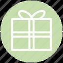 box, box design, gift box, package, present, prize, web icon