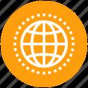 earth, global, globe, internet, marketing, web, world icon