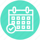 access, appointment, calendar, date, event, plan, schedule icon