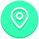 gps, location, map pin, marker, place, pointer