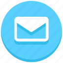 closed, email, envelope, letter, mail, message icon