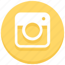 camera, instagram, photo, photography, picture, snap icon