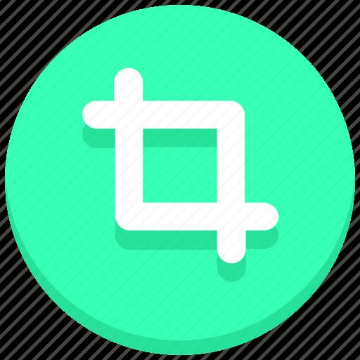 crop, design, frame, graphics, streamline, tool, transform icon