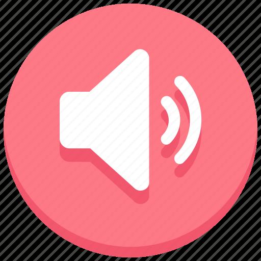 audio, full, sound, speaker, volume icon