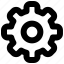 cogwheel, gear, mobile, preference, setting, web