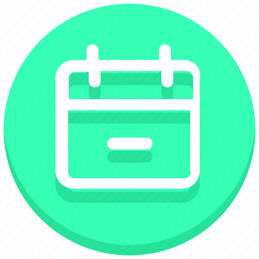 appointment, calendar, date, day, event, minus, schedule icon