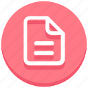 design, document, file, page, paper, web icon
