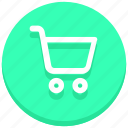 buy, cart, e-commerce, online, shopping, trolley, web icon