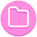 data, folder, media, office, seo, storage, web icon