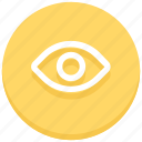eye, show, view, visibility, visible, vision icon