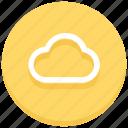 cloud, internet, server, storage, technology, weather, web icon