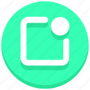 notification, settings, ui, web icon