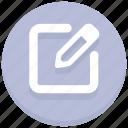 editing, pencil, web, writing icon