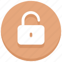 success, opened, unlock, login, protection, secure, unlocked icon