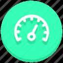 dashboard, gauge, performance, speed, speedometer icon