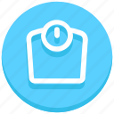 check, machine, scale, test, weight, weight machine icon