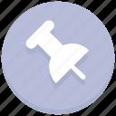 mark, paper, paper pin, pin, reminder icon
