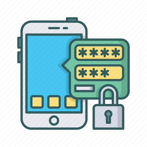 app, key, login, mobile, password, secure, security icon