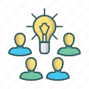 brain, brainstorm, brainstorming, business, creativity, idea icon