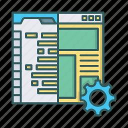 coding, development, html, programming, testing, web, website icon