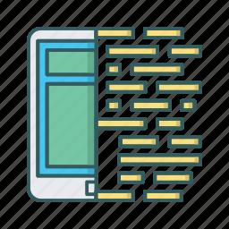 coding, development, mobile, programming, tablet, web icon