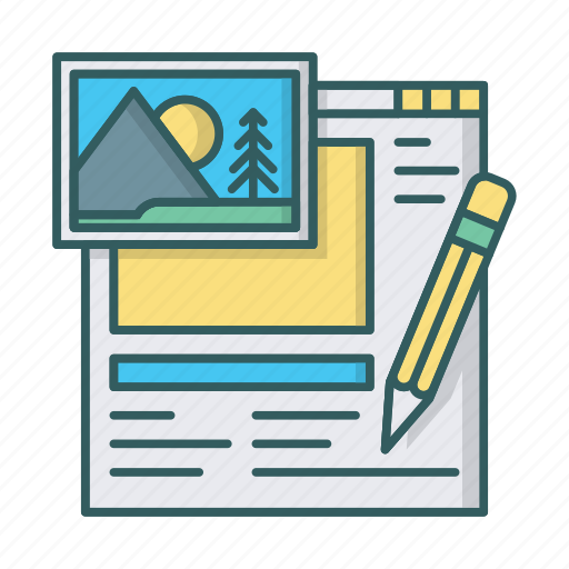 cms, drag and drop, editor, embed, image, interface, layout icon