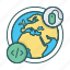 company, freelance, global, outsource, studio, team, work icon