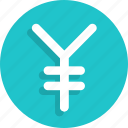 currency, finance, money, yuan icon