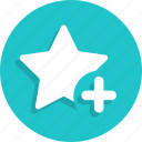 add, bookmark, favorite, new, plus, star