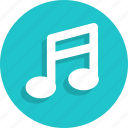 audio, music, note, play, sound, speaker, volume icon