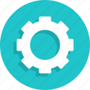 configuration, gear, options, preferences, settings, tools icon