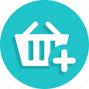 add, basket, cart, ecommerce, shop, shopping, store icon