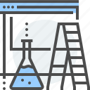 chemistry, development, internet, ladder, page under construction, server, website icon