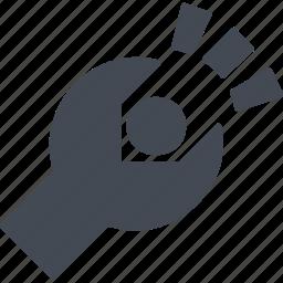 analytics, infographic, internet, online, signs, spanner, symbols icon