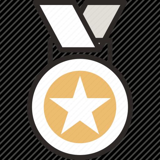 .svg, award, gold medal, medal, star, winner icon