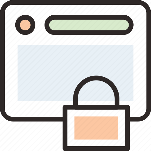 .svg, browser, lock, protection, security, web icon