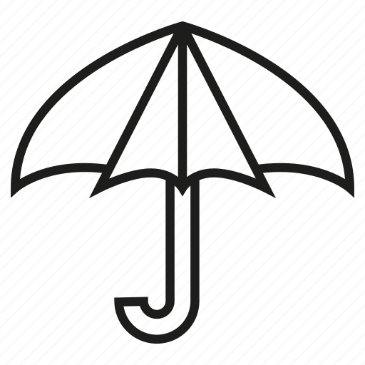 secure, umbrella icon