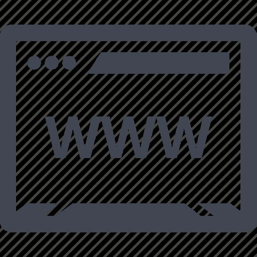 bold, seo, web icon