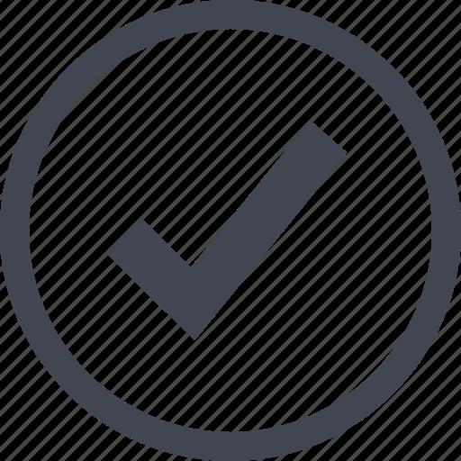 Check, mark, ok icon - Download on Iconfinder on Iconfinder