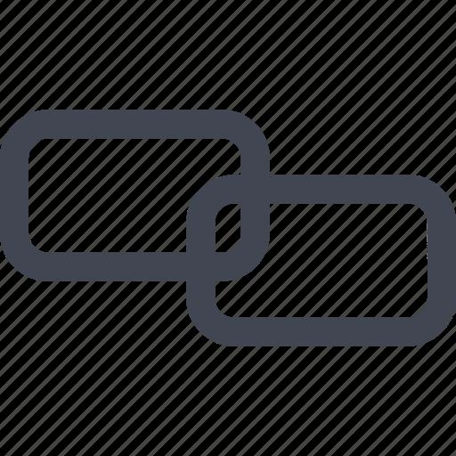 link, online, together, web icon