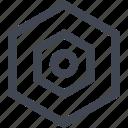 data, eye, seo, server icon